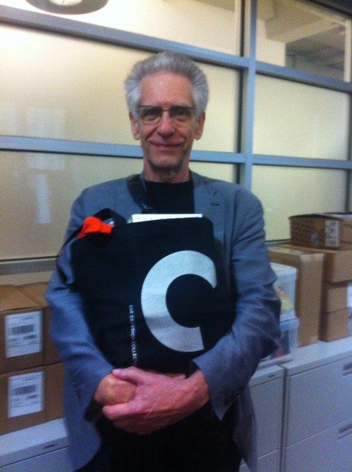 Happy 77th birthday David Cronenberg