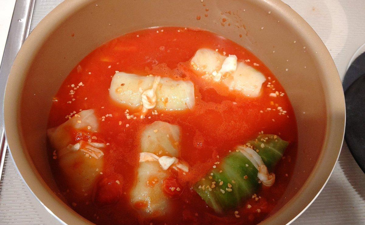 トマト 缶 ロール キャベツ 冷凍
