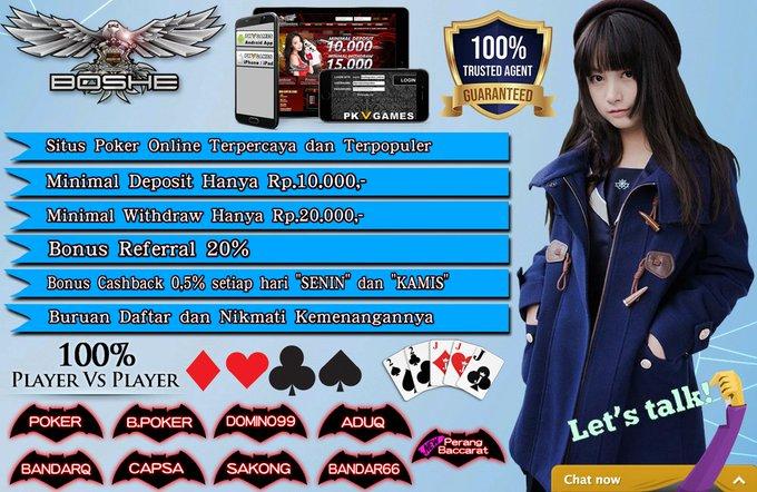 Agen Perang Baccarat games Terbaru PKV hanya di BoshePoker ETJPz0SUwAA9rKB?format=jpg&name=small