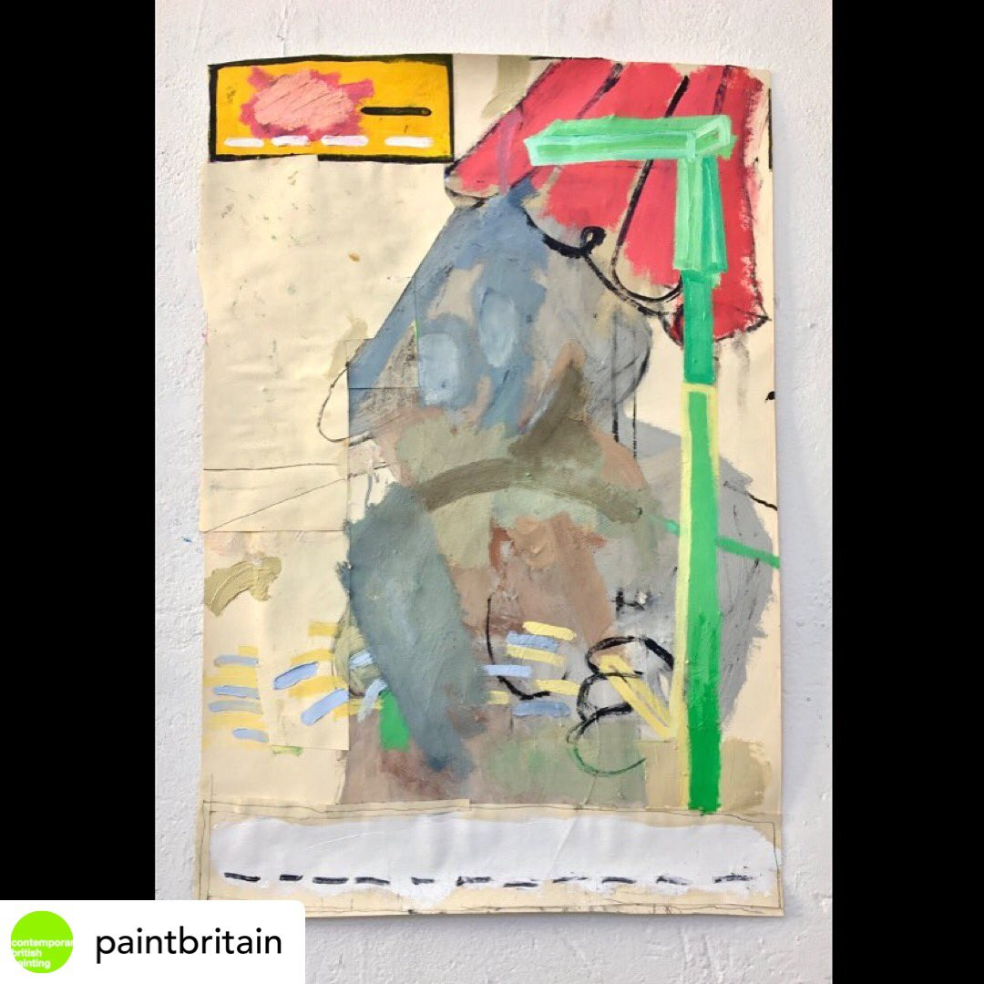 Thankyou @paintbritain for selecting my painting, So- as #paintingoftheday   #contemporarybritishpainting #contemporarypainting #kunstwerk #dailycollector #goldsmithsmfapic.twitter.com/vwMpBRTYgN
