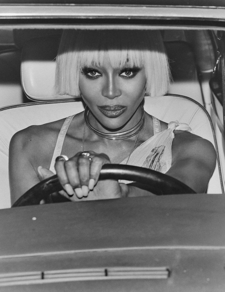 Naomi Campbell (p: Chris Colls), Vogue Hong Kong, March 2020. <Driven To Greatness> 2/4 https://t.co/zB0MoFYVnX