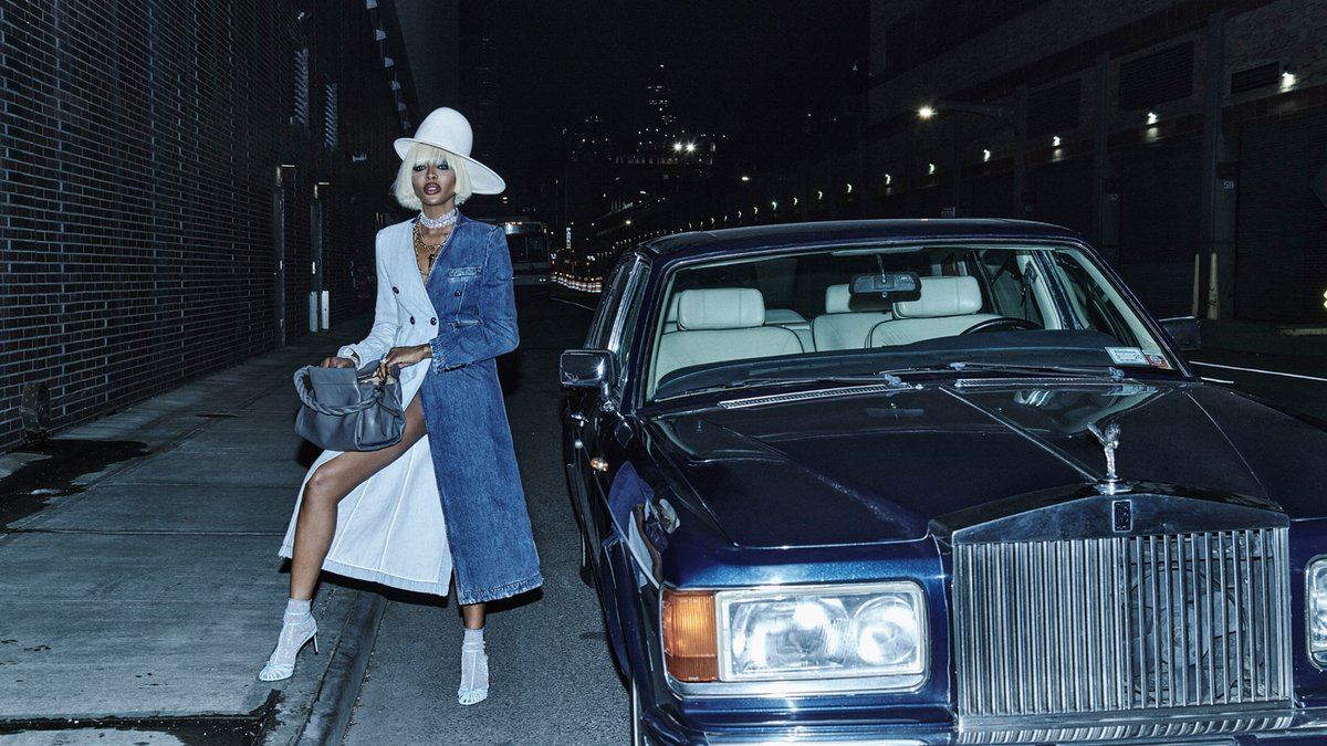 Naomi Campbell (p: Chris Colls), Vogue Hong Kong, March 2020. <Driven To Greatness> 4/4 https://t.co/p6BMewEB1M