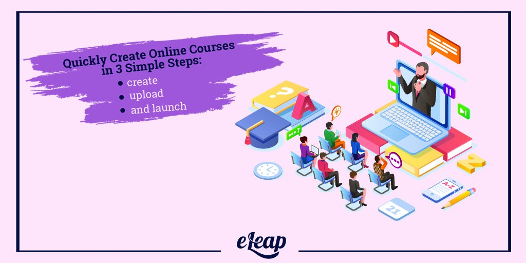 test Twitter Media - People are often frightened of a new learning platform which takes time to learn and master. That's not the case with eLeaP's online course creation which takes only 3 simple steps. 🤨 Click on the link below! .  👉🏻 https://t.co/kce1v2df8D 👈🏻 . #COURSES #onlinelearning https://t.co/LTo2yGVbRs