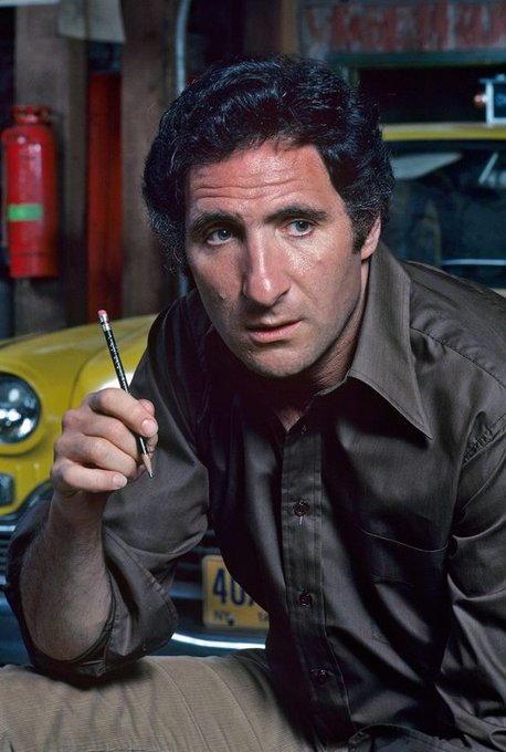 """Happy 85th Birthday to television show \""""Taxi\"""" star Judd Hirsch born today in 1935."""