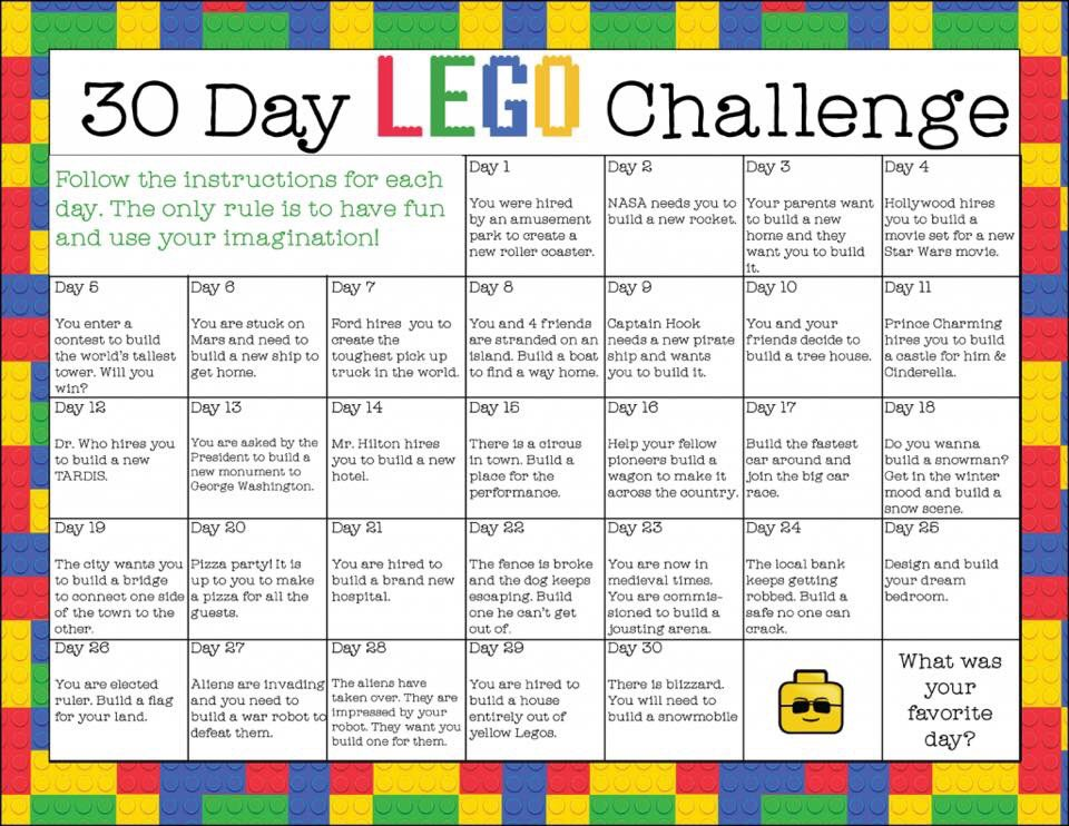Looking for ideas while your kids are at home? We are doing the @LEGO_Education challenge!