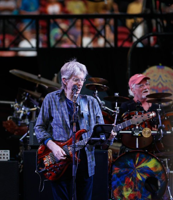 Happy Birthday to Phil Lesh! Let there be songs to Phil the air always!  Happy 80th, so grateful you were born!
