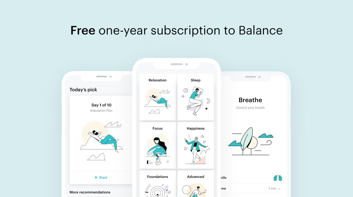 These are challenging times, and we'd like to do what we can to help. This month, we're offering a completely free one-year subscription to Balance to anyone who wants it. Email access@balanceapp.com for instructions — and please share with others who might benefit.