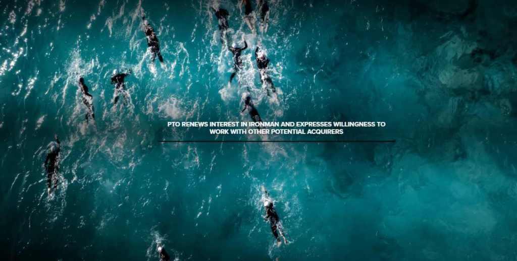 """PTO e Ironman: la saga continua... e il """"finale di stagione"""" non sembra vicino. @protriorg @IRONMANtri #WandaSports #mondotriathlon #ioTRIamo ❤️"""