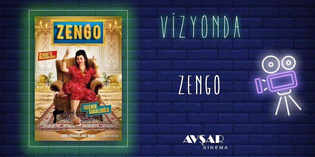 #Zengo, ünlü bir modacı olmanın hayalini kurarken, kendisini büyük bir rekabetin içinde bulan genç bir kadının hikayesini konu ediyor.  Film #AvşarSinema salonlarında sizlerle.  Detaylı bilgi için https://t.co/TIjmSWwewp adresini ziyaret edebilirsiniz. https://t.co/4lricl4z1U