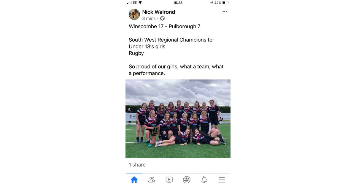 So proud of U18 Girls, what a team, what a Performance winscomberfc.co.uk/news/so-proud-…