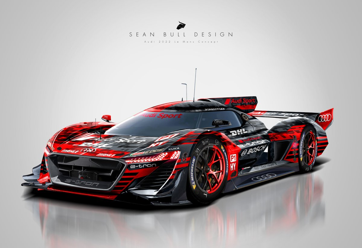 Sean Bull Design On Twitter Fantasy Le Mans 2021 Hypercar Regulation Concepts And Liveries Mix Of Existing Released Cars And My Own Concept Designs For Potential Brands Line Up 1 Aston Valkyrie