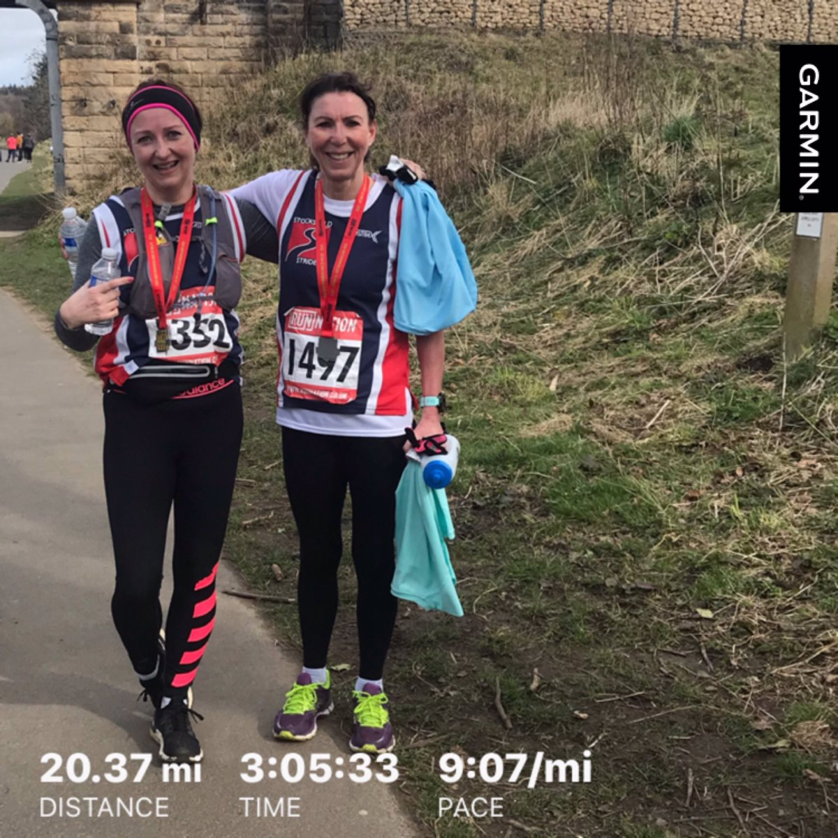 Big Northumberland 20 miler. Think it'll be the last organised race for a while, uncertain scary times ahead. #runnation #keeprunning #scarytimespic.twitter.com/peGW4r3Ha4