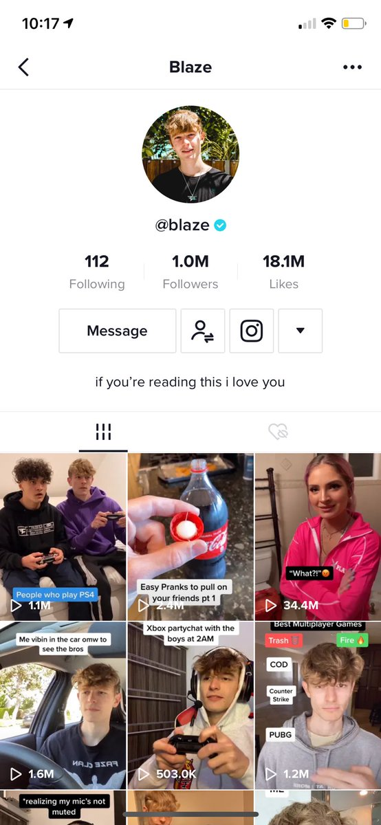 3 months ago I started posting short videos to TikTok and today we hit 1M🥳