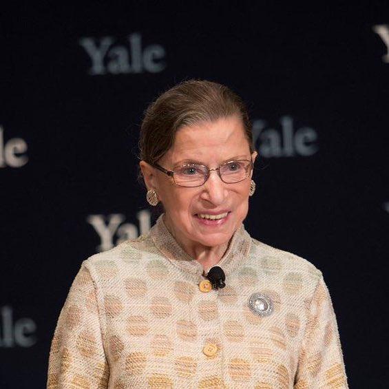 Happy 87th birthday Justice Ruth Bader Ginsburg!