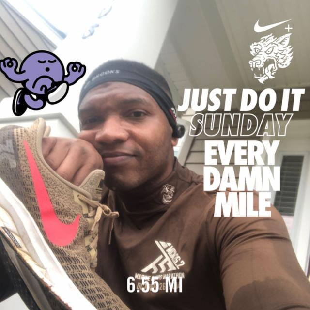 Ran 6.55 miles with Nike⁠ Run Club #JustDoIt month of the Mayfield!Growing stronger and wiser. Be above average http://www.mokacia.com  #nikeplus #nikerunning #blessed #monthofmayfield #blackmenrun #blackfitness #fit #marinemamba #usmcbeast #missionminded #positivity #motivationpic.twitter.com/T8Kqnlg1j9