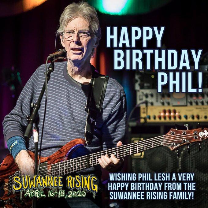 Happy Birthday, Phil Lesh!