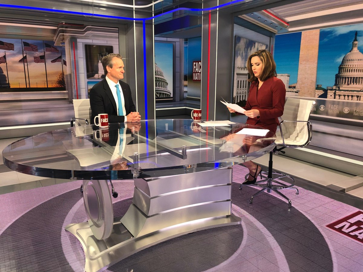 """CEO Brian Moynihan on @FaceTheNation this morning told @margbrennan, """"This is a healthcare and humanitarian crisis. We need to take care of our people, customers and clients."""" https://t.co/ssYI34pxCK https://t.co/qvbNvWbV42"""