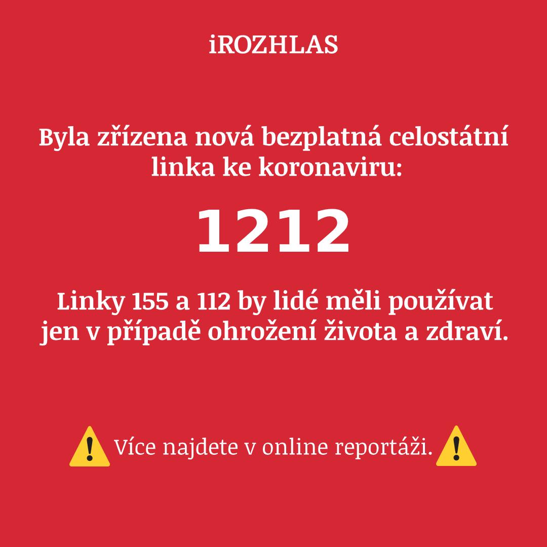 Image result for nová bezplatná celostátní informační linka 1212