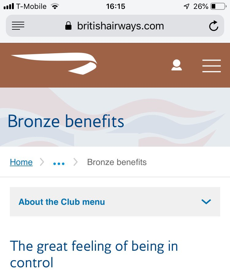 Nice to see BA approaching the upcoming travel disruption with a strong sense of irony