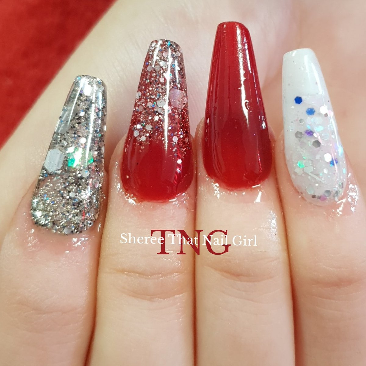 We cant always be perfect, but our nails can   Products from @inklondon @bluesky_global @blueskyukpro and #thatnailgirl  #acrylicnails #sculptednails #glitternails #glitter #red #rednails #coffinnails #thatnailgirlsheree #thatnailgirlstage2 #nailsindoncaster #doncasternailspic.twitter.com/sj8BvRo1fH