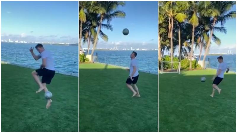 【影片】不愧是小Nash!Dragic海邊大秀足球絕技,彩虹過人+凌空抽射!