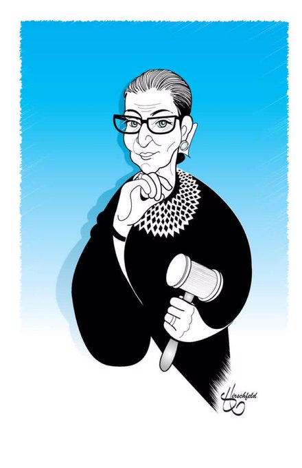 Happy Birthday to Supreme Court Justice Ruth Bader Ginsburg