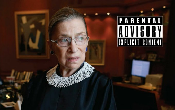 Happy Birthday to the US Supreme Court Justice  Ruth Bader Ginsburg!