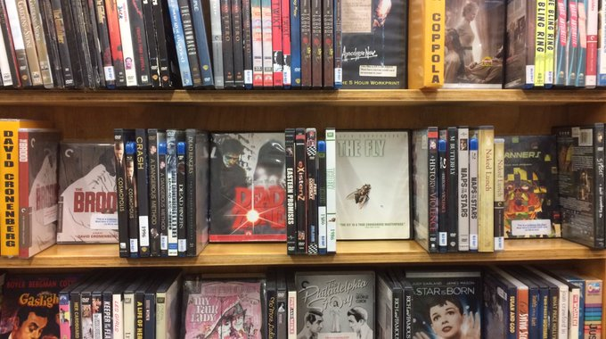 Happy 77th birthday to David Cronenberg! Check out his films from our Directors Wall today!