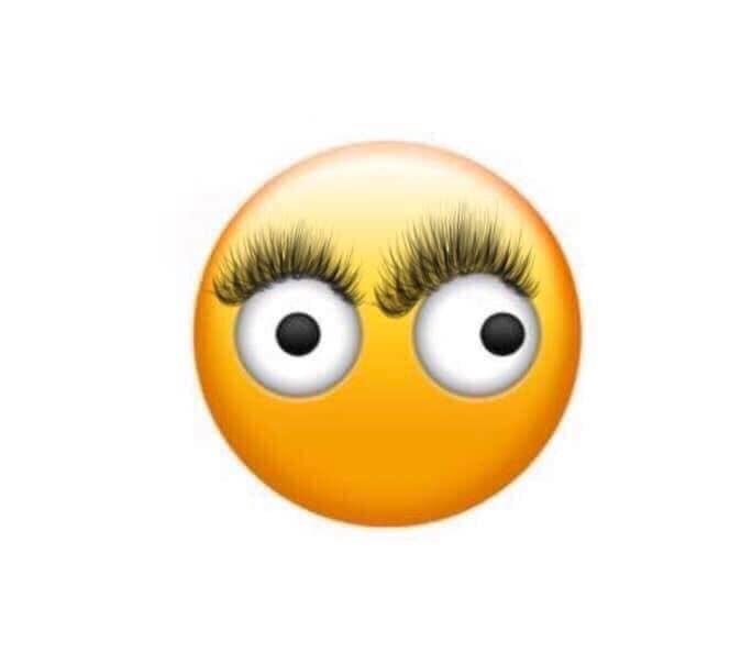 nobody: my fake lashes not sticking to the corner of my eye: