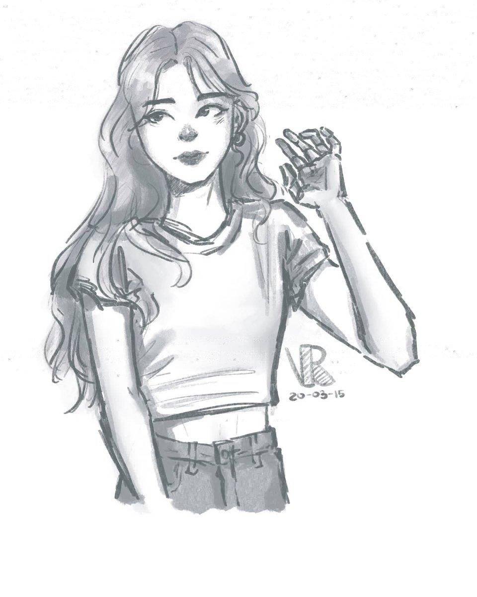 Decide to sketch Yuna while listening to ITZY's new album which is super good btw!!  。 。 。 。 #アニメ #anime #animegitl #sketch #かわいい #すごい #ulzzang #koreangirl #ulzzanggirl #kfashion #얼짱 #소녀  #예쁘다 #아름다운소녀 #itzy #yuna #itzyyuna #있지 #유나pic.twitter.com/lXtxrLLpRi