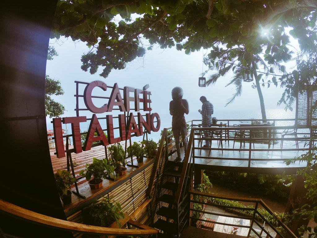 #varkala #varkalacliff #cafe #varkalabeach #caffeitaliano #caffeine #coffeetime #beautiful #kerala #godsowncountry #IncredibleIndia #dewanderersoul #wanderlustXL #wanderlust #mytravelpics #traveltribe #photography #travelphotography #Explore #travelwithme #memories  #tripadvisorpic.twitter.com/GhDIrnAcUr – at Caffe Italiano