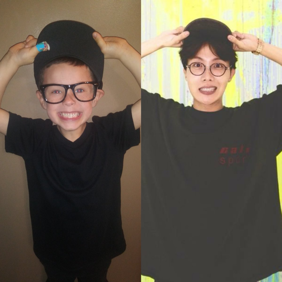He got inspired by @mommy_tanya #jhopeboy love for J-Hope plus we all need some extra hope #JHOPE #junghoseok @BTS_twt #BTS #littleBTSArmy #BTSARMY #miniBTSstyle #miniBTSstylehacker #BoyWithLuv #BestMusicVideo #iHeartAwards<br>http://pic.twitter.com/P7HOTIP45Y