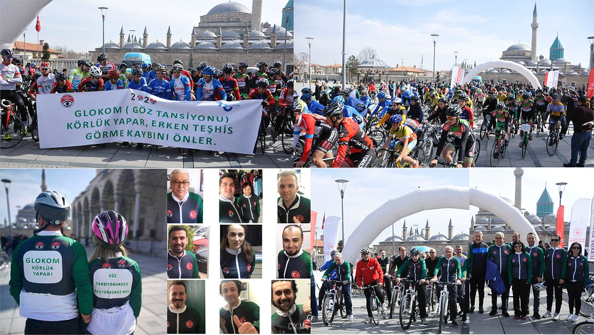 test Twitter Media - Cycling for #glaucoma #awareness. Around 100 ophthalmologists, ophthalmic technicians, nurses and medical faculty students cycled on a 4-5 km /8-10 miles route in Konya. Read more about it here: https://t.co/QtqrORGdJw #glaucomaweek #WGW2020 https://t.co/5C8IsX438w