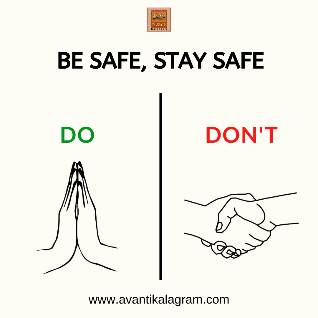 Before things go out of hand. Practice clean hygiene. Don't just think it won't happen to you. All those who lost lives also thought the same and were careless about precautions. https://t.co/4ISbI1qqcq . . #avantikalagram #mulshi #pune #SayNaToCorona #StaySafe #Covid19 https://t.co/i5zF7WD3nz