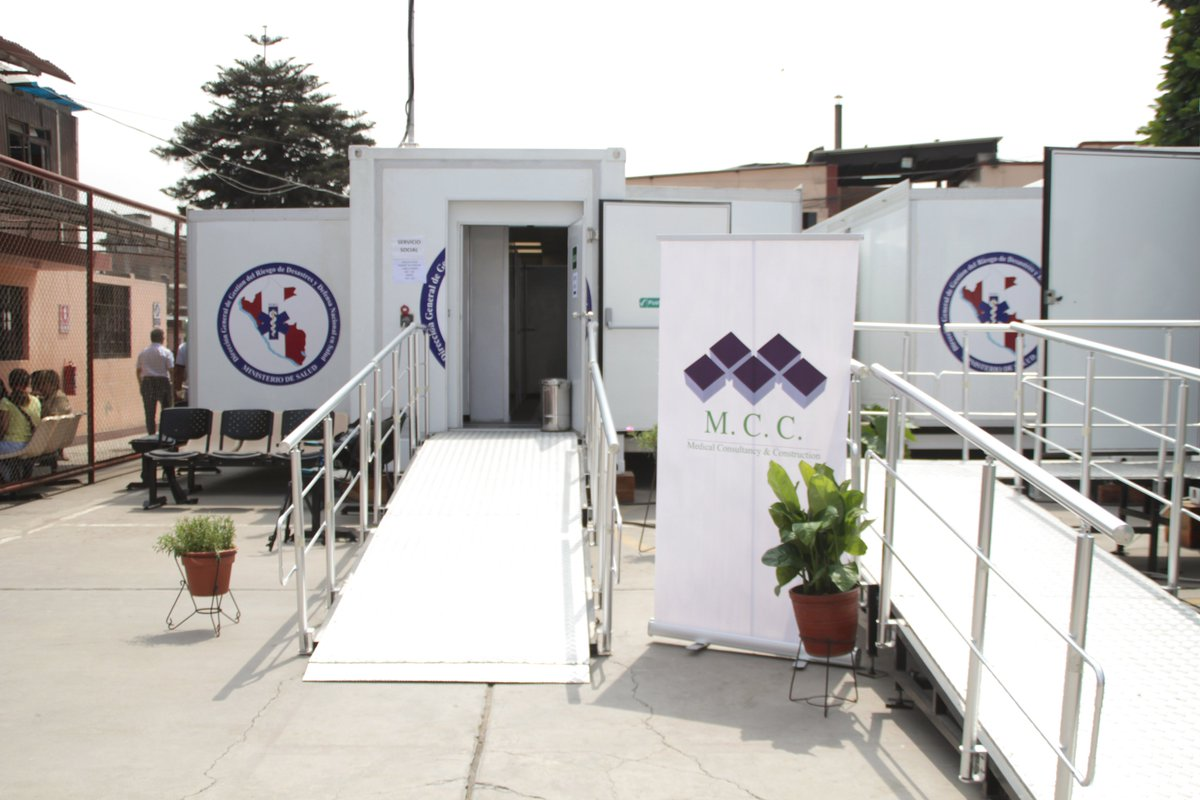 MCC's mobile hospitals can be used as testing and treatment facilities for Covid19. The MOH Peru has deployed one of the ten we provided to the government of Peru at the airport. #coronavirus #COVIDー19 #CoronavirusTesting https://t.co/6BTf24GLyf