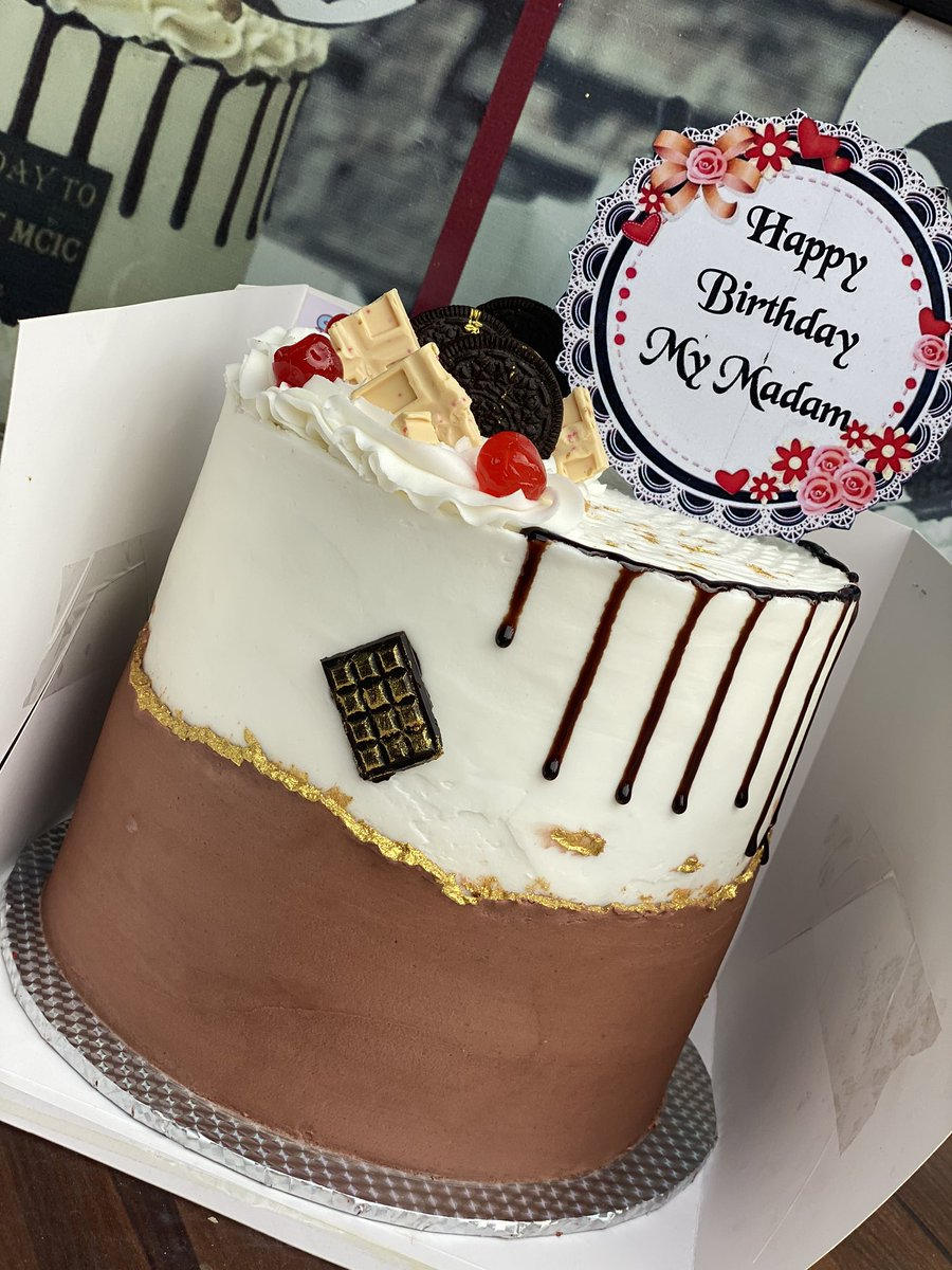 Cool The Cake Plug In Lagos On Twitter Tried Brown And White Personalised Birthday Cards Xaembasilily Jamesorg