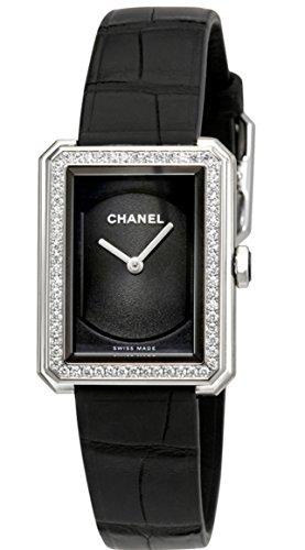 #ChanelBoyFriend  #BlackGuillocheDialLadiesWatchH4883 #buyonline $6,521.90