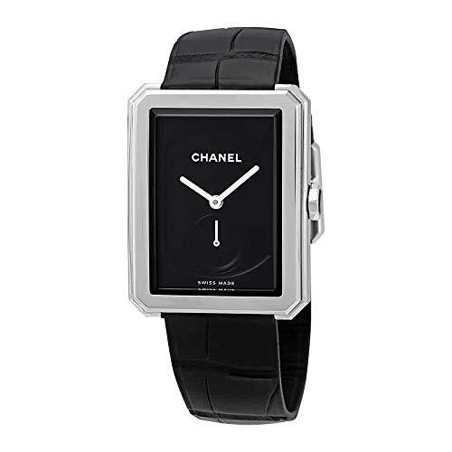 #ChanelBoyFriend  #BlackDialLadiesWatchH5319 #buyonline $4,576.00