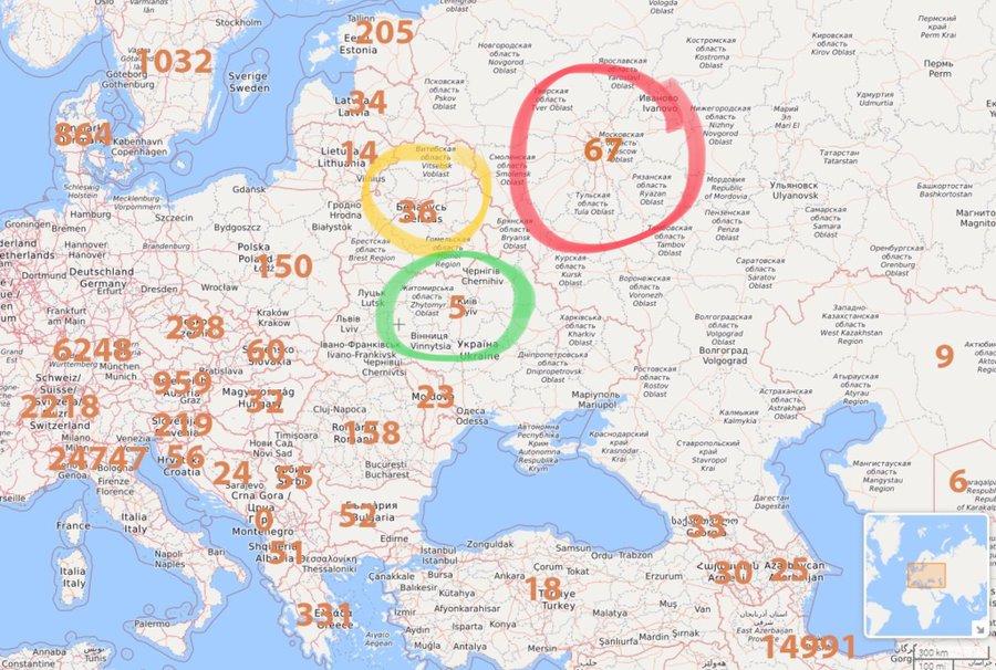 Київ забезпечений тестами на коронавірус: вже є й такі, що дають результати з аналізу слини, - КМДА - Цензор.НЕТ 2071