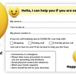 Image for the Tweet beginning: Happy to help leaflets. Download