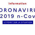 Image for the Tweet beginning: #Coronavirus   Retrouvez les dernières