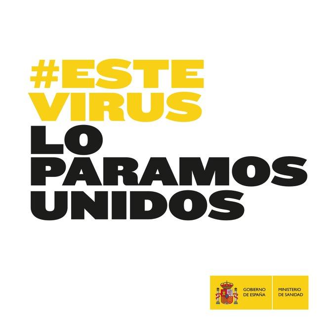 El cartel del Ministerio de Sanidad para frenar el virus.