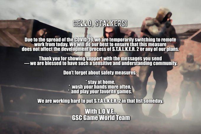 GSC Game World переводит работу над S.T.A.L.K.E.R. 2 в дистанционный режим