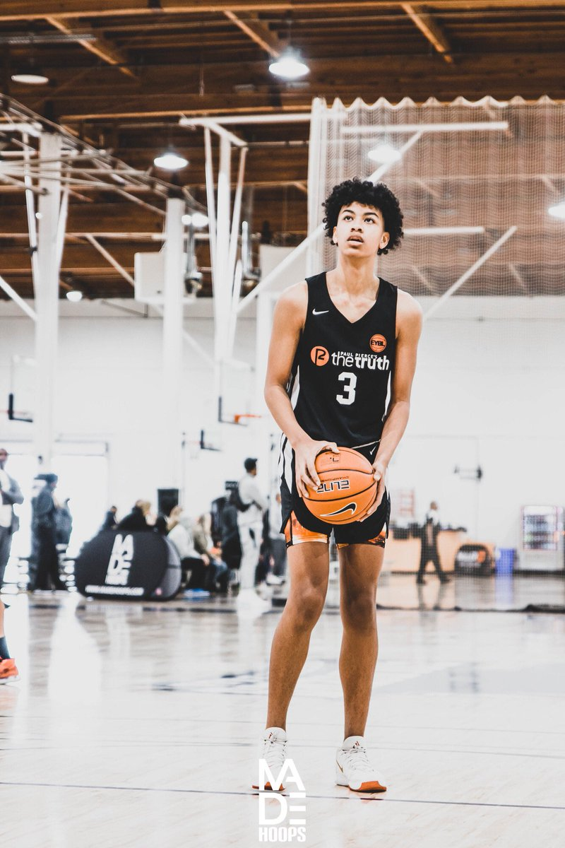 """2024 6'4"""" wing Jayden Harper (Los Angeles, CA) saved his best for last, putting together an impressive West Coast Championship Weekend 🏆 for The Truth Flight. The talented prospect is turning a corner. 🔮🧬 #Lea8ue #CreateYourName https://t.co/hxiUbRN08e"""