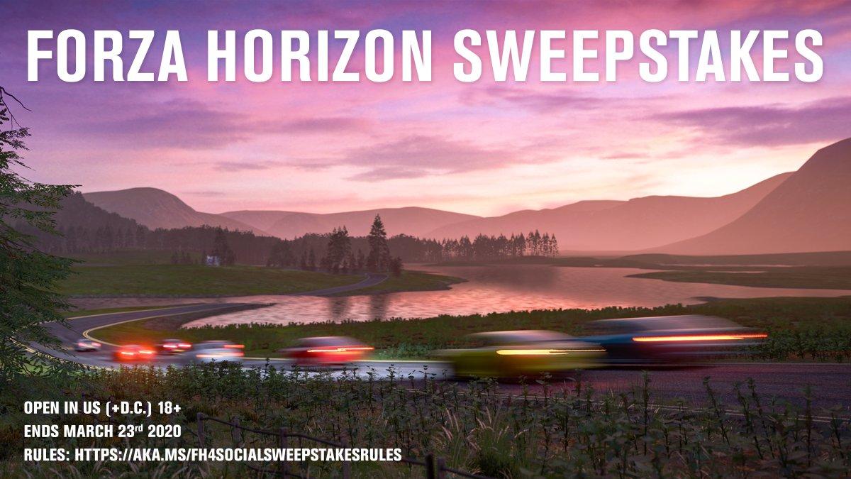 Forza Horizon Sweepstakes