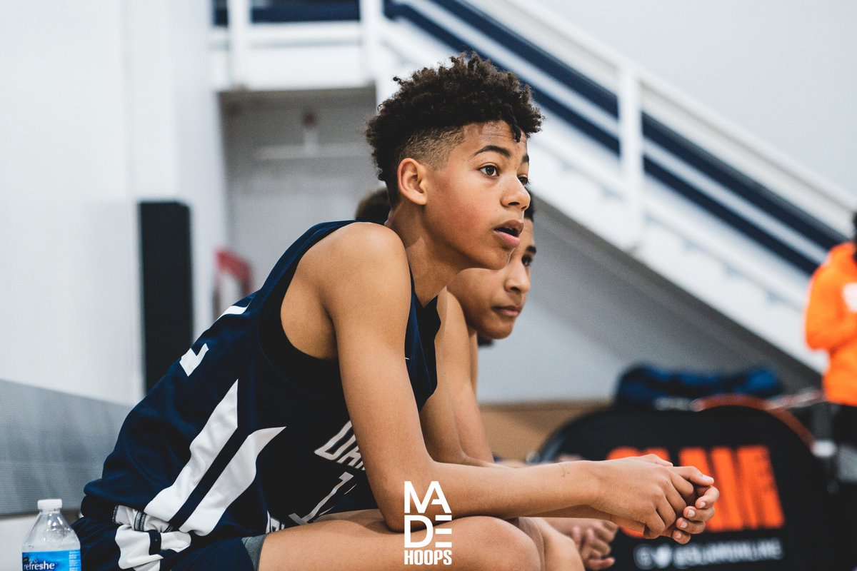 I'm very high on the long term potential of 2025 WG Dallas Washington (Los Altos, CA) of the Oakland Soldiers. Talented shot-maker who has no shortage of tools to work with. 🧬🔮 #7eague #CreateYourName https://t.co/axSVzannZ8