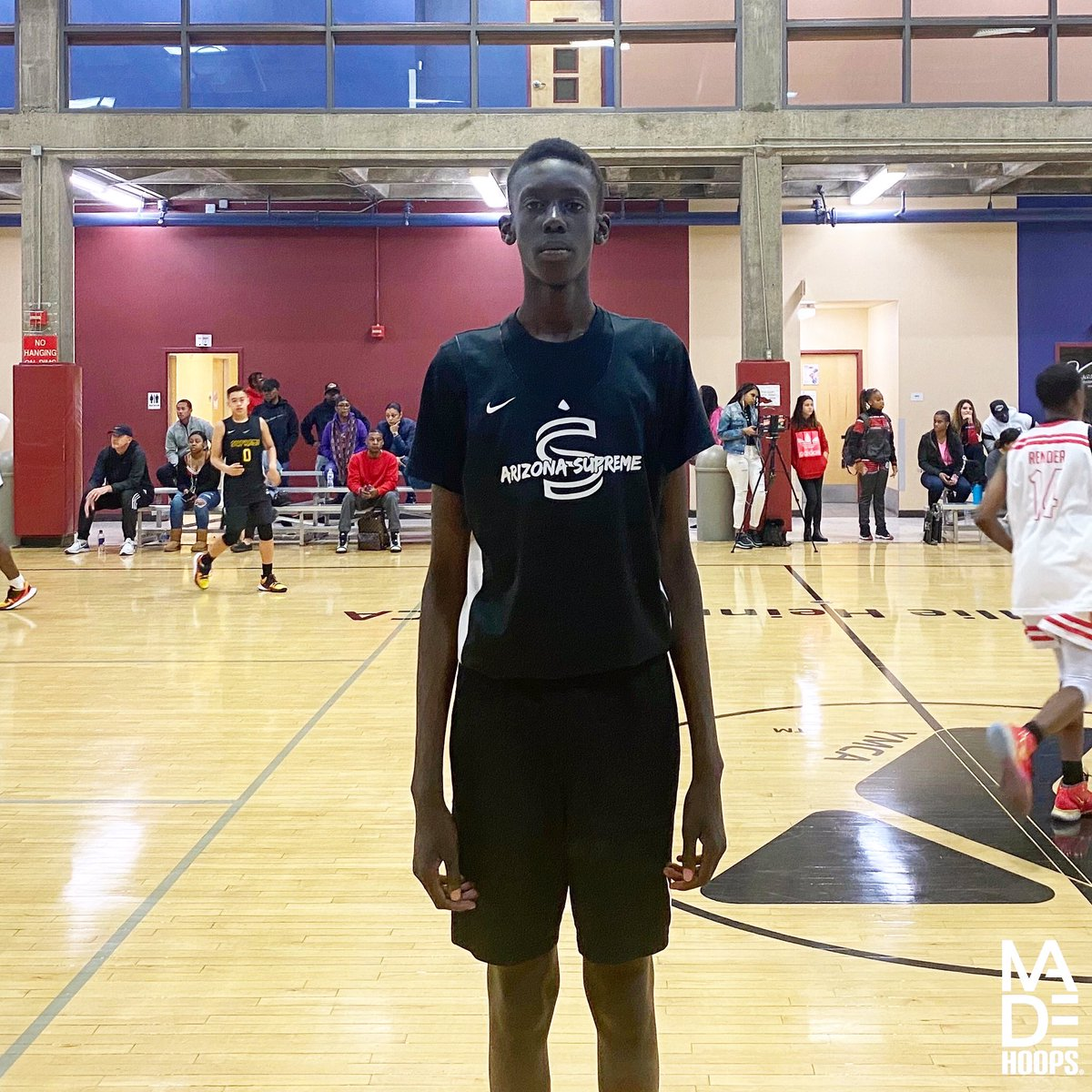 """One of the most talented 2025 prospects I've encountered to this point is 6'8"""" F/C Maper Maker. Yes, he's another member in the growing line of Maker basketball talents. 🧬 #7eague #CreateYourName https://t.co/HzJbr0edZP"""