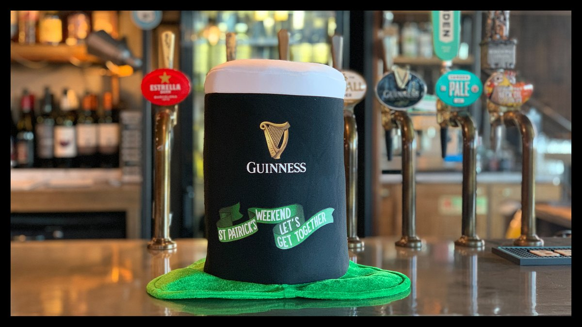 🍀Tomorrow is #StPatricksDay , why not swing by the Nine Elms Tavern and enjoy a Guinness... Or 4🍀 https://t.co/5pKSh0Q8DY