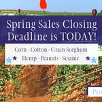 Image for the Tweet beginning: The Spring Sales Closing Deadline