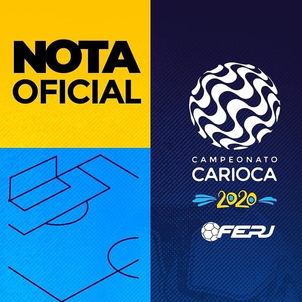 """FERJ on Twitter: """"A Federação de Futebol do Estado do Rio de ..."""